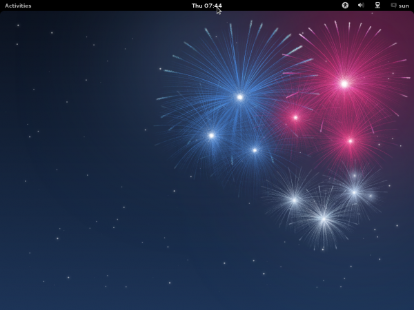 Fedora 17 GNOME Desktop