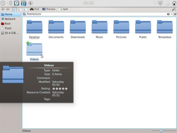 Kubuntu Active Dophin
