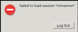 Linux Mint Debian Login Error