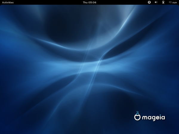 Mageia 2 Beta GNOME Desktop
