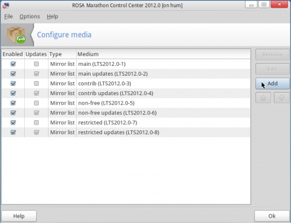ROSA Desktop 2012 Repository Manager