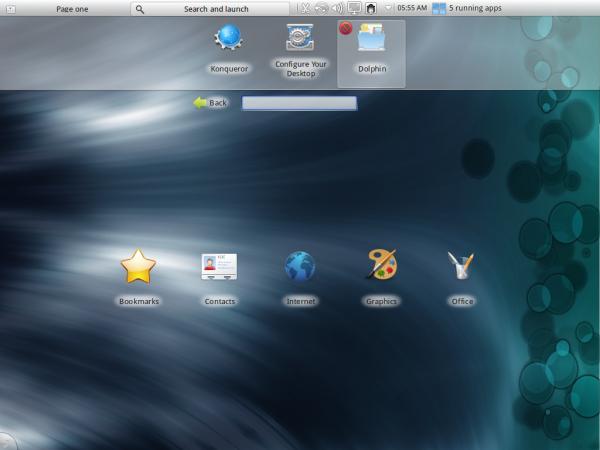 ROSA Desktop 2012 KDE Netbook