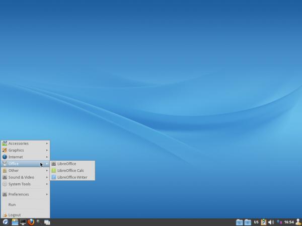ROSA Marathon 2012 LXDE Desktop