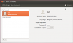 Creating and managing user accounts in a GNOME 3 or Ubuntu desktop