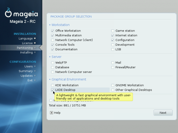 Mageia 2 and the default GNOME 3 desktop