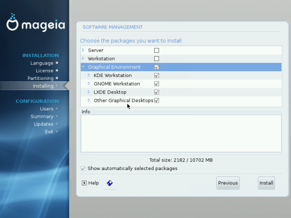 Mageia 2 Customize Other Desktops