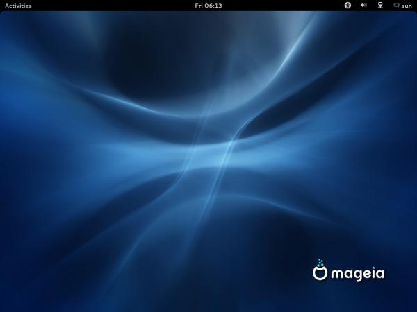 Mageia 2 Default GNOME 3 Desktop