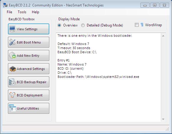Ubuntu 12.04 EasyBCD