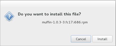 Fedora 17 Install Muffin Cinnamon