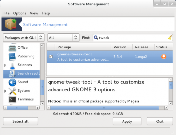 How to get back that friendly desktop look on Mageia 2 GNOME 3