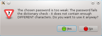 Fedora 17 Password Quality Checking