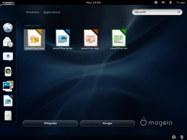 Mageia 2 GNOME 3