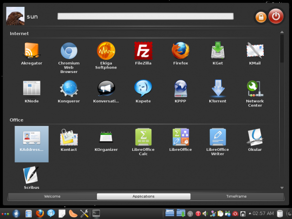 Mandriva 2012 Installed Apps