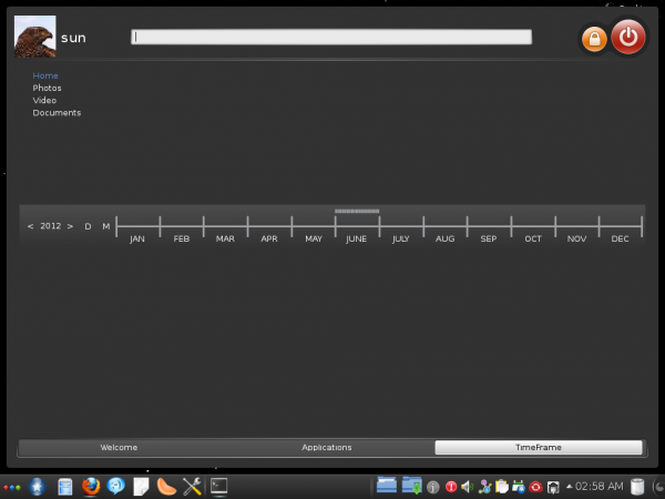 Mandriva 2012 TimeFrame