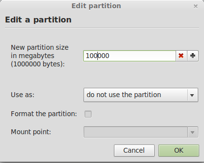 Linux Mint 13 Resized Windows Partition