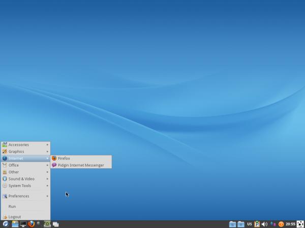 ROSA 2012 LXDE Desktop