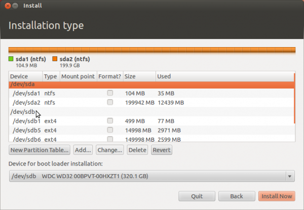 Ubuntu 12.04 Advanced Partition Tool