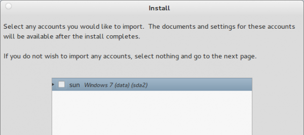 Pear Linux 5 Install Import Windows