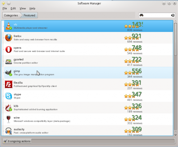 Linux Mint 13 Software Manager Featured