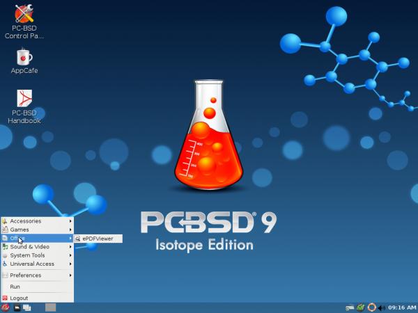 PC-BSD 9.1 LXDE
