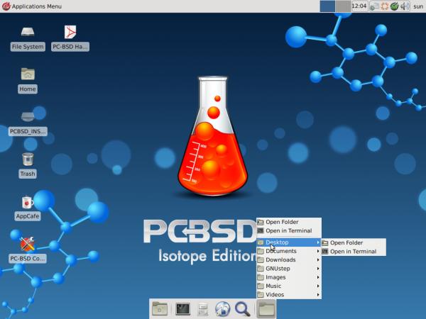 PC-BSD 9.1 Xfce