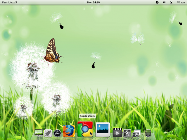 Pear Linux 5 Desktop