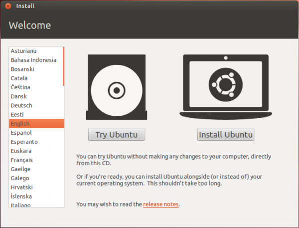 Ubuntu 12.04 Boot Options