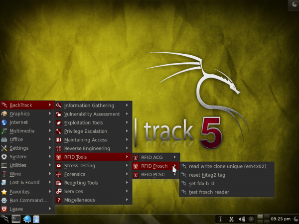 BackTrack 5 R3 Apps