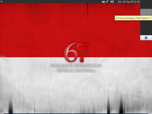 BlankOn 8 Desktop