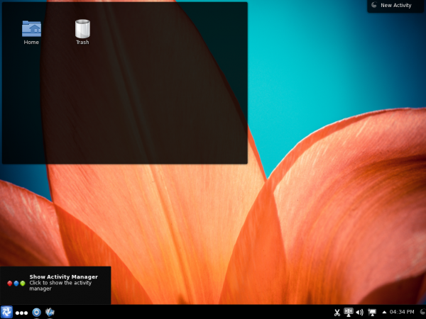 Chakra Claire Desktop