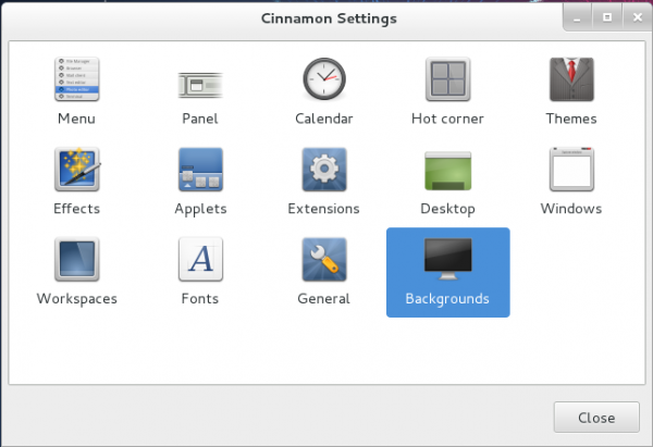 Cinnamon Settings