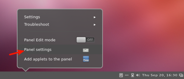 Cinnamon Tweak Panel