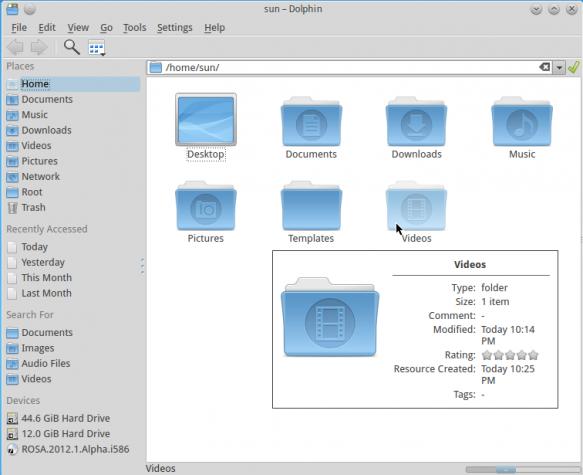 ROSA Desktop 2012 Dolphin
