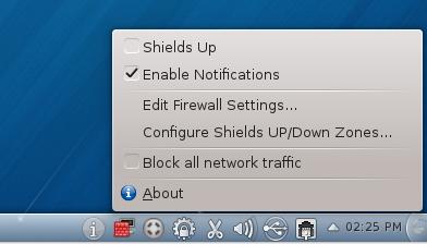 Firewalld Applet