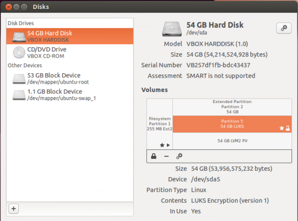 Full disk encryption and LVM configuration in Ubuntu's