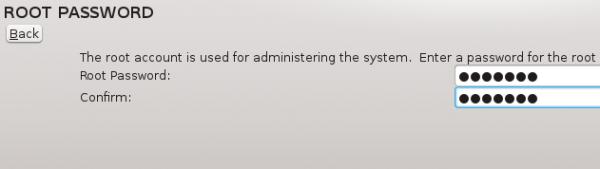 Fedora 18 Root Passwd