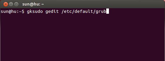 Terminal Edit File