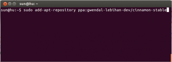 Install Cinnamon 1.6 in Ubuntu 12.04 LTS