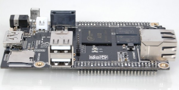Cubieboard Sideview 2