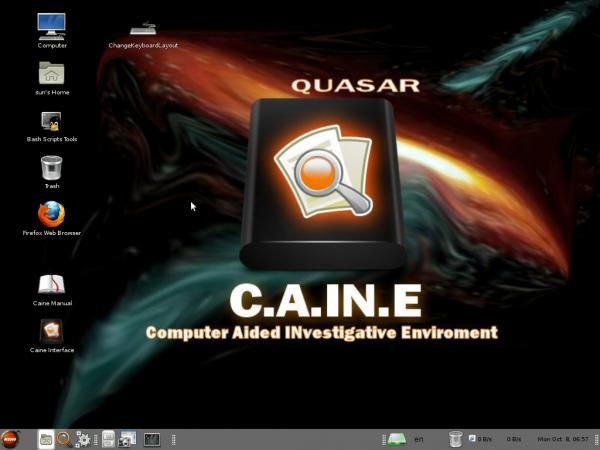 Caine 3 MATE Desktop