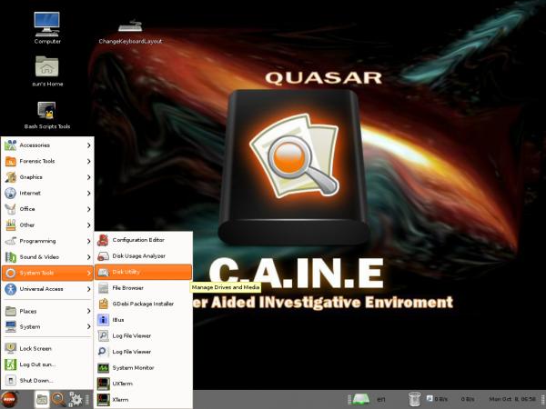 Caine 3 Desktop