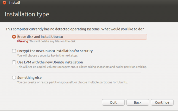 Ubuntu Install Methods