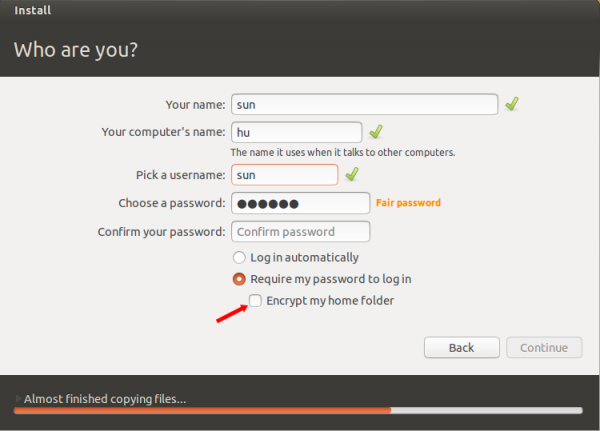 Ubuntu 12.10 installation and disk partitioning guide
