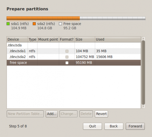 BackTrack 5 Advanced Partition Tool