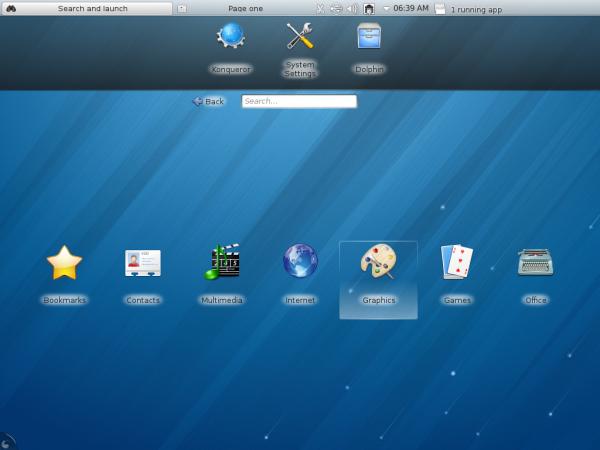 Fedora 18 KDE Netbook