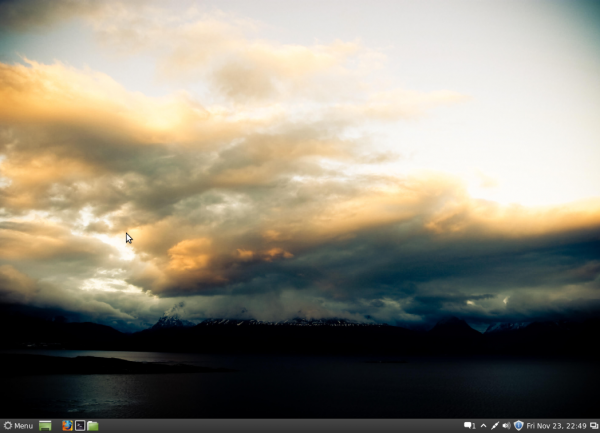Mint Cinnamon Desktop