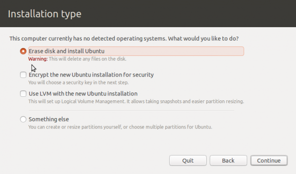 Why is Windows 8 on SSD invisible to Ubuntu 12.10′s installer?