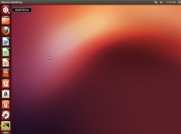 Ubuntu 12.10 Desktop