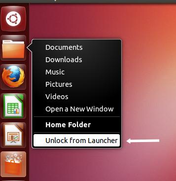 Ubuntu 12.10 Dock
