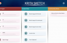 Krita Sketch released
